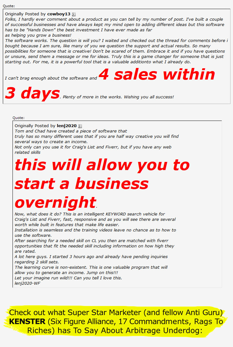 page3 [GET] Arbitrage Underdog Pro wso of the day wso software 2 seo 2 keyword software affiliate marketing